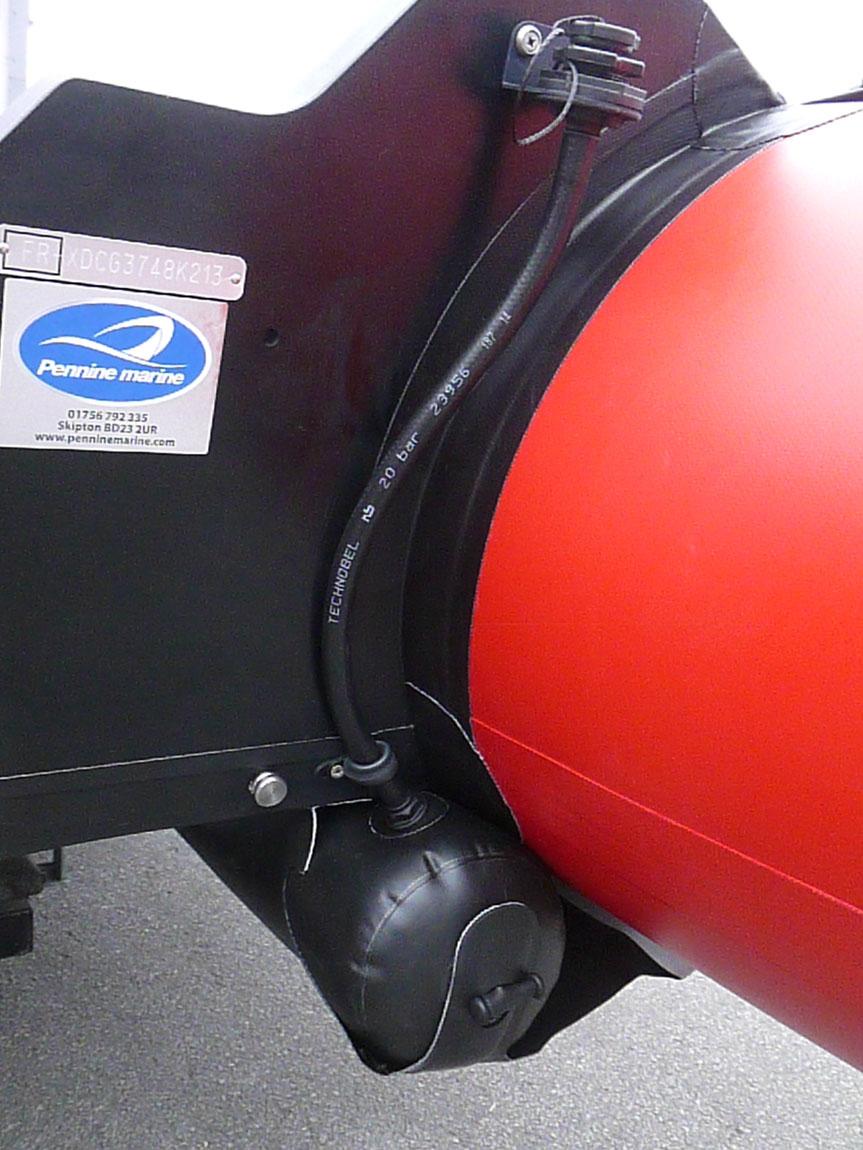 Zodiac Futura Fastroller Air Floor Inflatable Boat Penninemarine