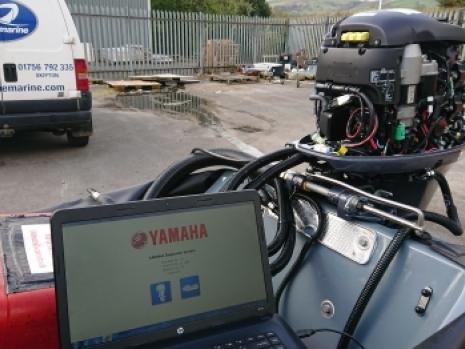 Yamaha F50 Outboard Engine | www penninemarine com